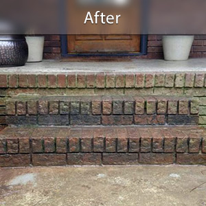 Sinking stairs repaired with PolyLevel® Poughkeepsie