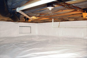 Crawl Space Repair After in Middletown