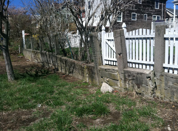A Retaining Wall Installed In Newburgh