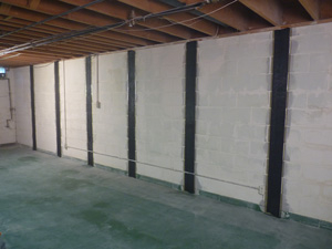 Proven Repair For Bowing Ed Basement Walls