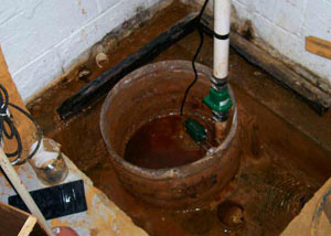Extreme clogging and rust in a Hopewell Junction sump pump system