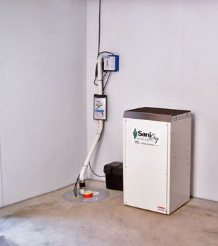 SaniDry™ Basement Dehumidifier